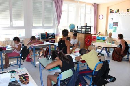 Classe scolariré collective